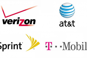 american-carrier-logos-at&t-verizon-sprint-t-mobile
