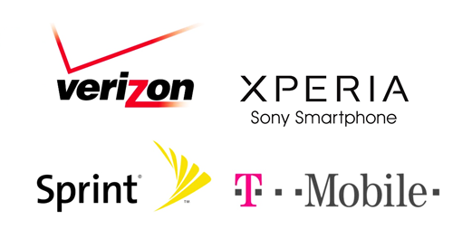 sony-smartphone-xperia-american-carrier-logos-verizon-sprint-t-mobile